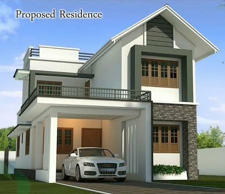 1750 Square Feet 4 Bedroom Double Floor New Modern Home Design And Plan
