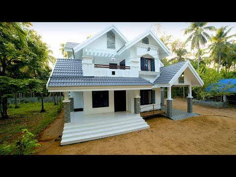 2455 Square Feet 4 Bedroom Double Floor Colonial Style Modern Home Design and Elevation