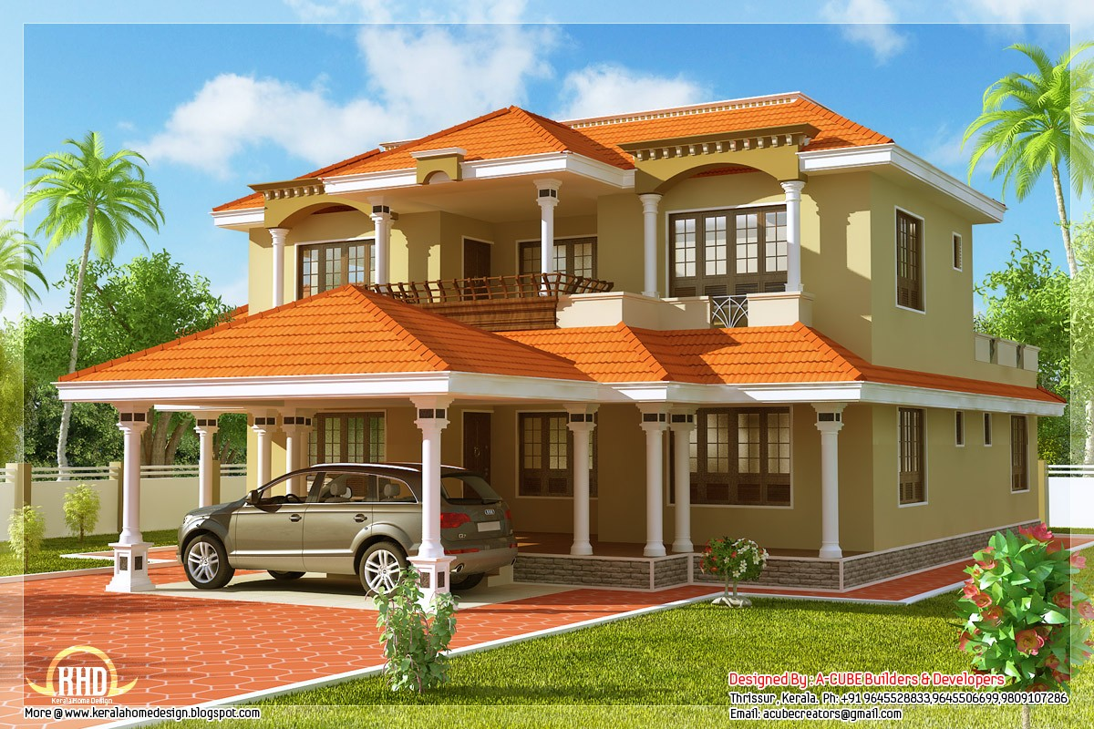2789 Square Feet 4 Bedroom Kerala Style Home Design Home