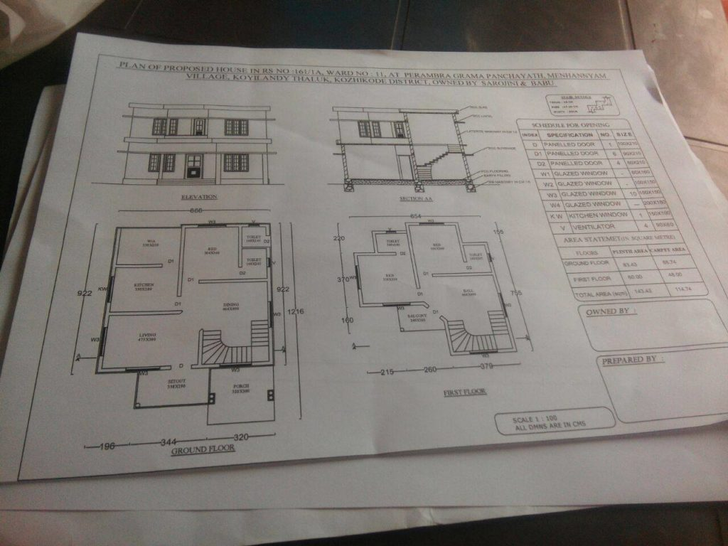 1400 Square Feet 3 Attached Bedroom Double Floor Contemporary Home Design And Plan Home