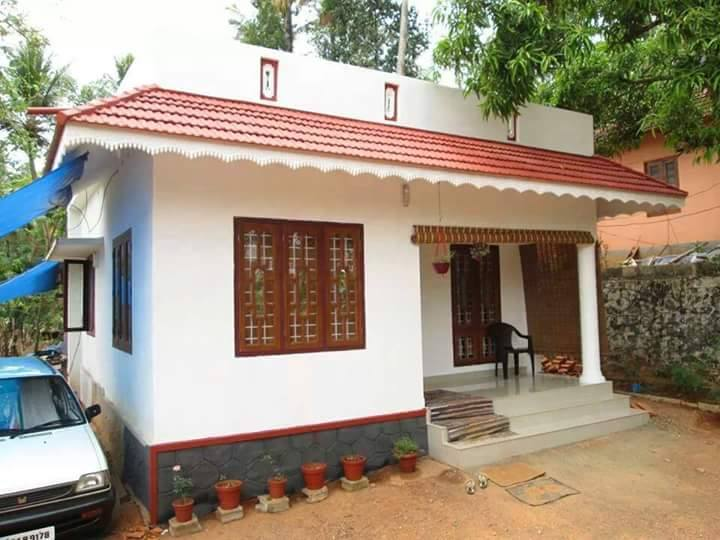 882 Square Feet 3 Bedroom Single Floor Low Budget Home Design and Plan