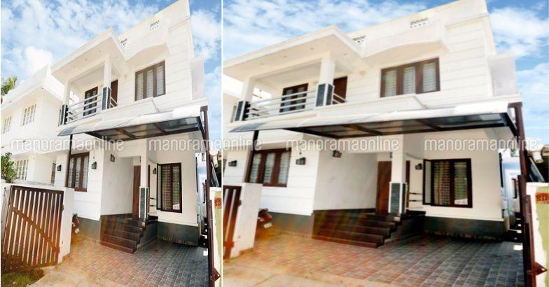 1340 Square Feet 5 Bedroom Double Floor Low Budget Home Design