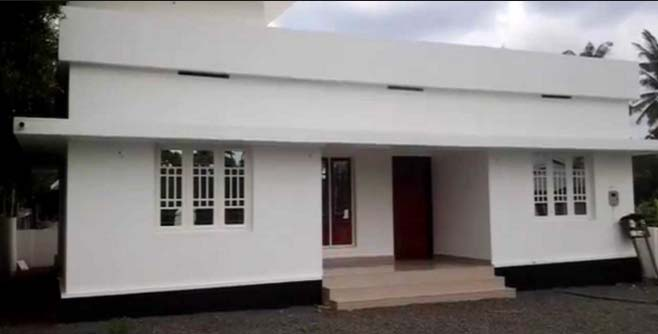 753 square feet 3 bedroom low cost single floor home for Low cost per square foot house plans