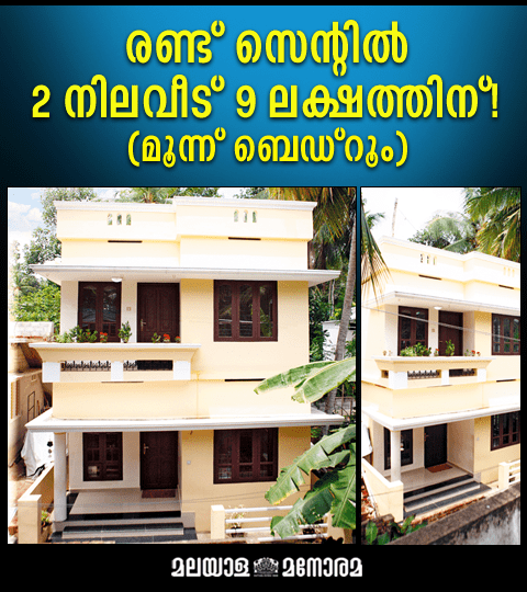 1100 Square Feet 3 Bedroom Double Floor Home Design And