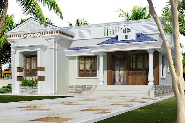 947 Square Feet 3 Bedroom Single Floor Low Budget Home Design