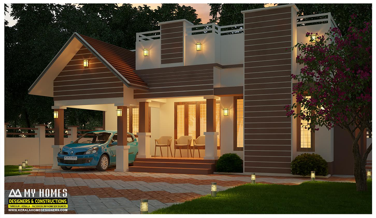 my home designs - Get Single Storey Low Cost Small Modern House Design Pics