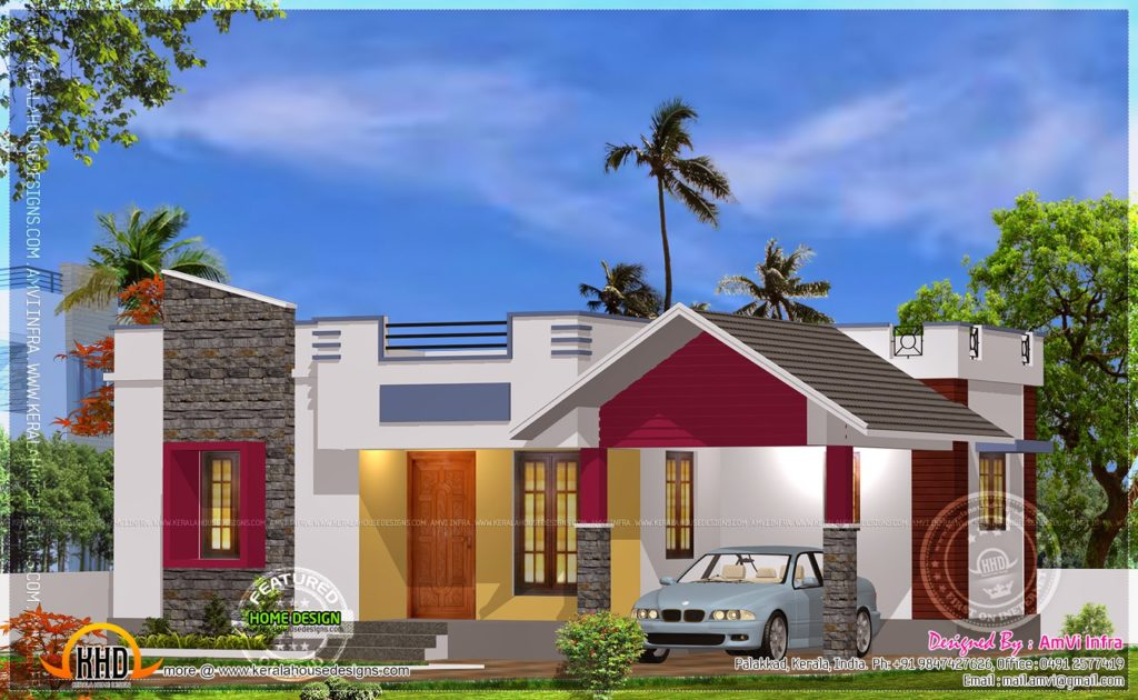 Superior 900 Square Feet 2 Bedroom Modern Home Design And Plan