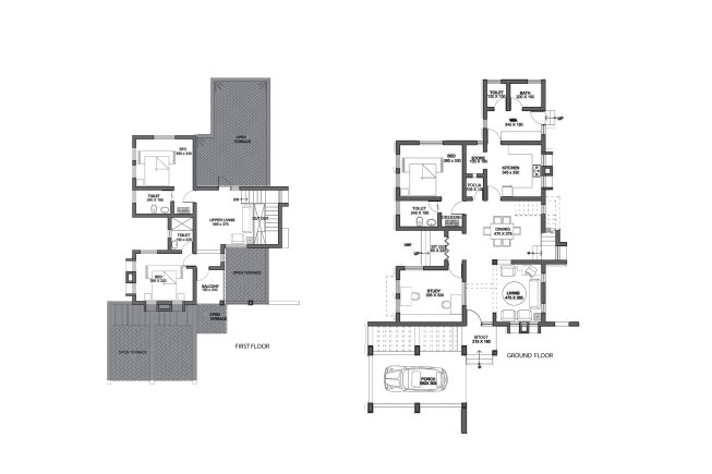 2530 Square Feet 4 Bedroom Modern Amazing Home Design and Plan