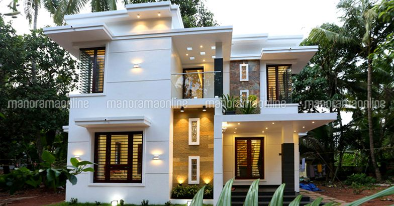 1500 square feet 3 bedroom double floor contemporary for 1500 sq ft modern house