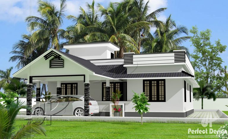 1153 Square Feet 3 Bedroom Single Floor Home Design and Plan - Home ...