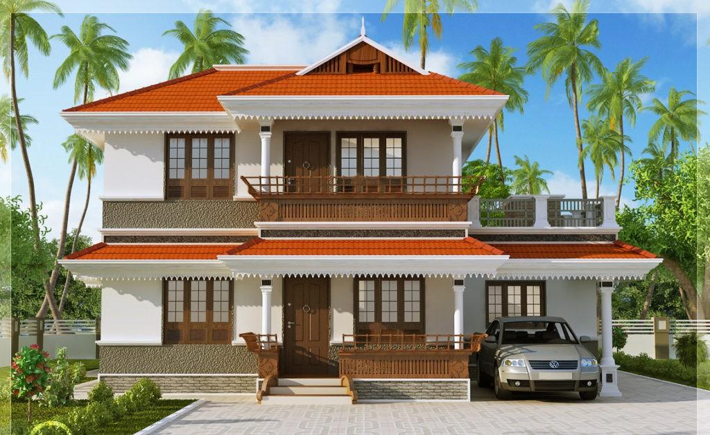 2170 Square Feet 3 Bedroom Double Floor Kerala Style Home Design