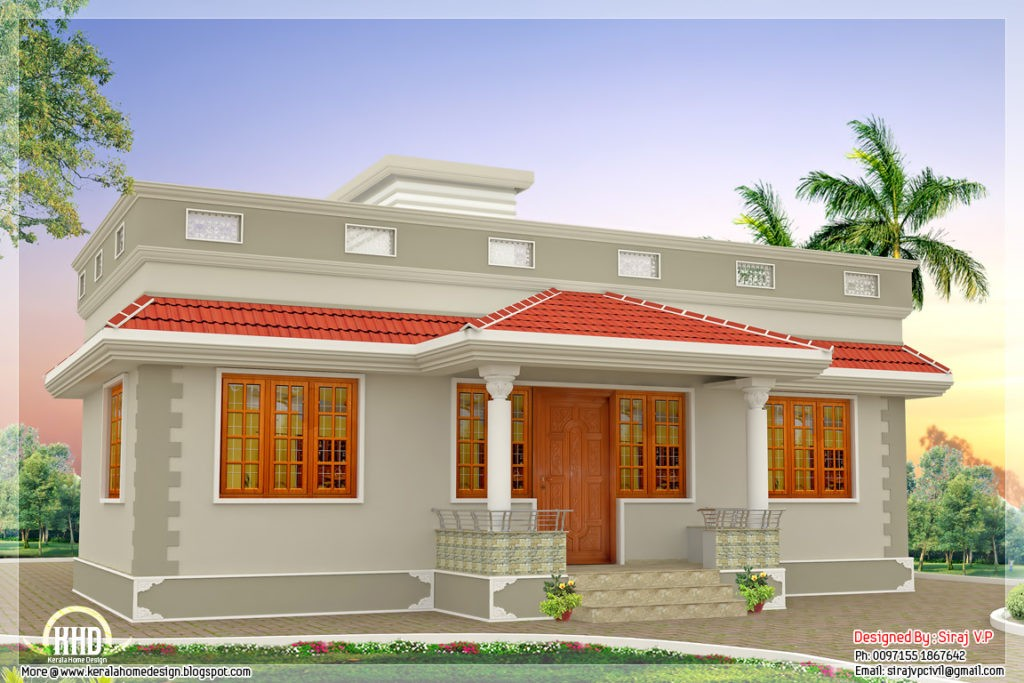 918 Sq Ft Beautiful Low Budget Home Design: 1000 Square Feet 3 Bedroom Low Budget Beautiful Single