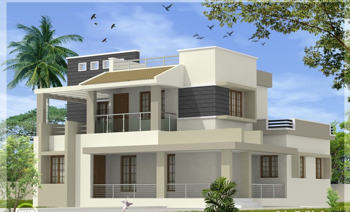 2170 Square Feet 4 Bedroom Modern Amazing Home Design