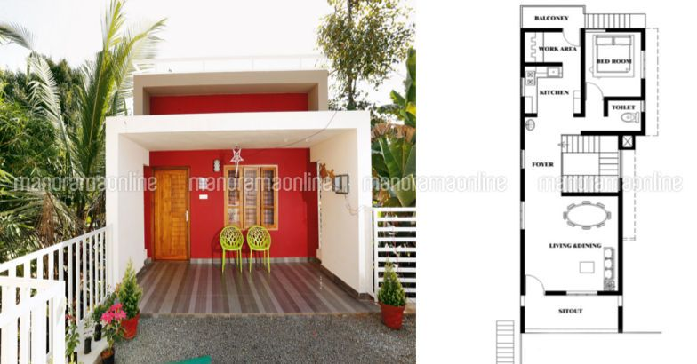 1650 Square Feet 4 Bedroom Double Floor Modern Home Design at 9.5 Cent Plot