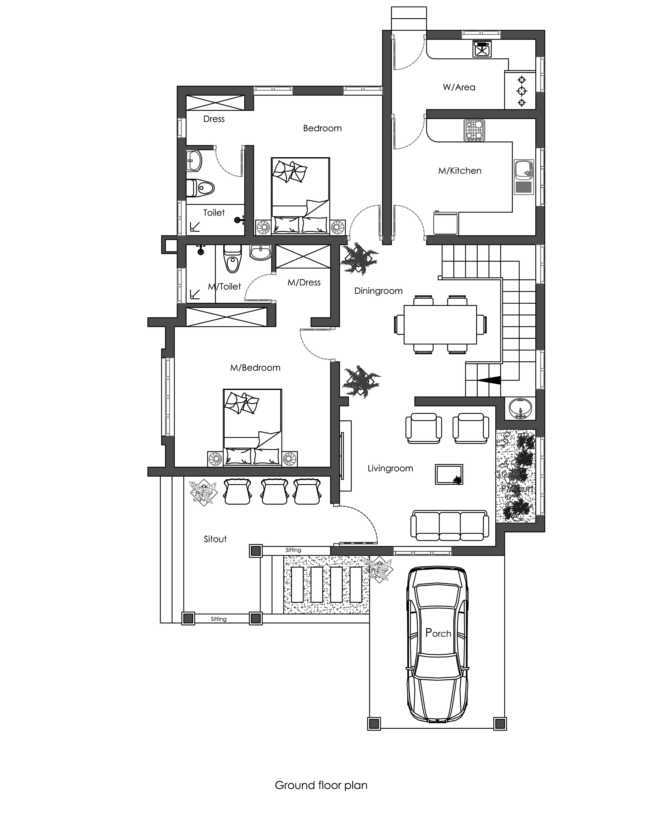 1900 square feet 4 bedroom contemporary traditional mix for 1900 square foot house plans