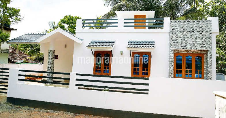 712 Square Feet Single Bedroom Low Budget Home Design and Plan For 10 Lacks