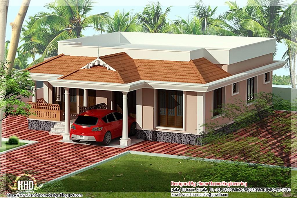 1030 Square Feet 3 Bedroom Single Floor Amazing Home Design