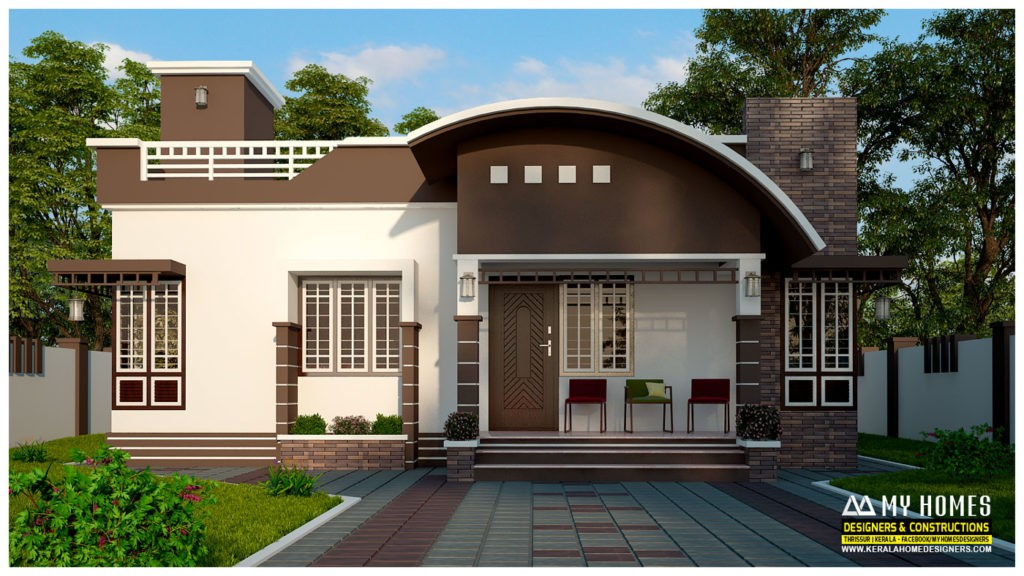 850 square feet 2 bedroom single floor modern contemporary for Cost to build a 576 sq ft house
