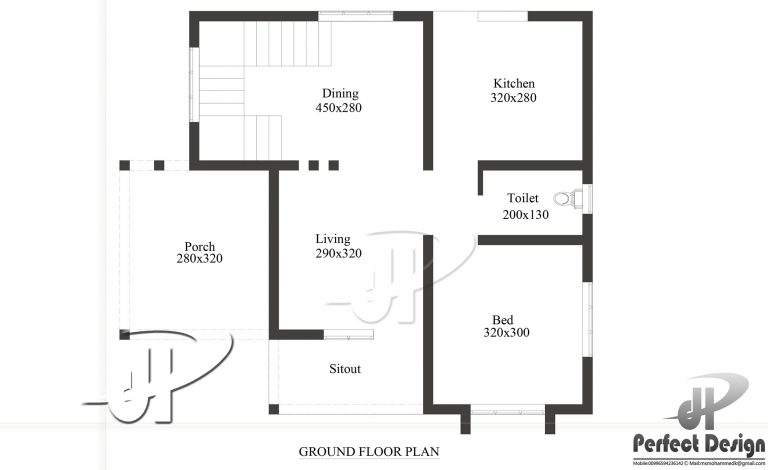 650 square feet single bedroom modern home design and plan for 650 sq ft house