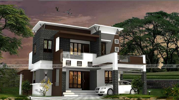 Photo of 1145 Square Feet 2 Bedroom Double Floor Modern Contemporary Home Design and Plan