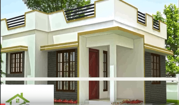 480 Square Feet 2 Bedroom Low Budget Home Design And Plan At 1 5