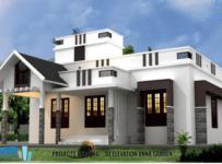 New Modern Villas 3 Bedroom Single Floor For Sale at Kannur
