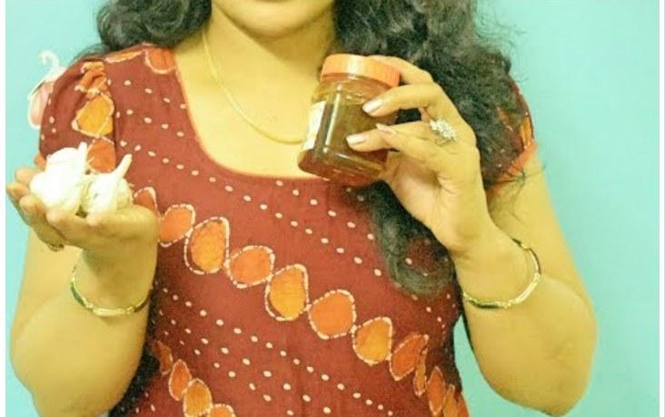 Eat Garlic with Honey