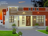 1005 Square Feet 3 Bedroom Single Floor Modern Home Design and Plan