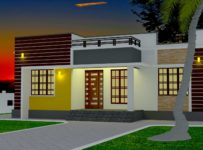 1110 Square Feet 3 Bedroom Low Budget Modern Home Design and Plan