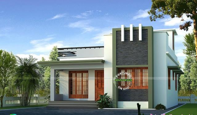 650 Square Feet 2 Bedroom Single Floor Low Budget Home Design