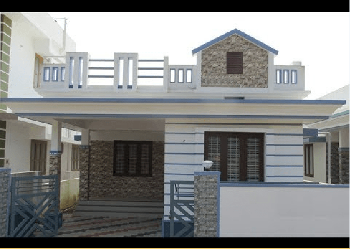1050 Square Feet 3 BHK Home and 3.5 Cent Plot For Sale