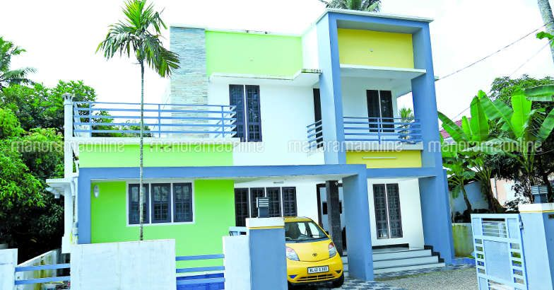 1530 Square Feet 3 Bedroom Double Floor Low Budget Home Design and Plan