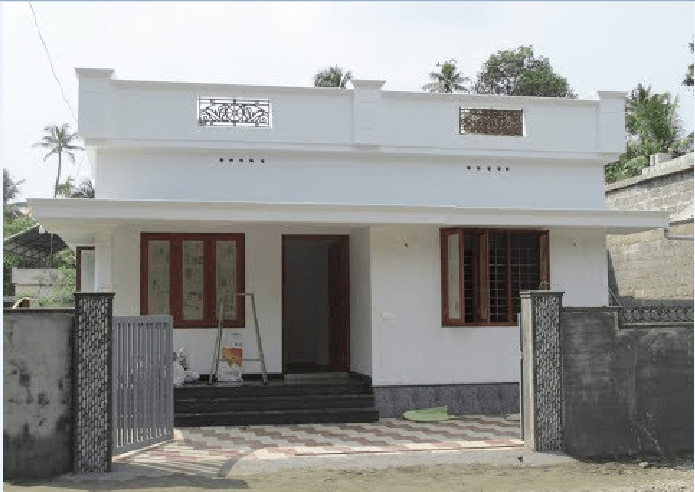 3 Cent Plot and 750 Square Feet 3 Bedroom House For Sale at Varapuzha
