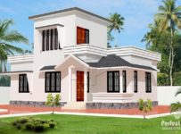 775 Square Feet 2 Bedroom Single Floor Modern Low Budget House Design and Plan