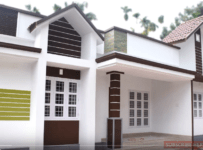 8 Cent Plot and 1450 Square Feet 3 Bedroom Home For Sale in Chalakudy,Thrissur