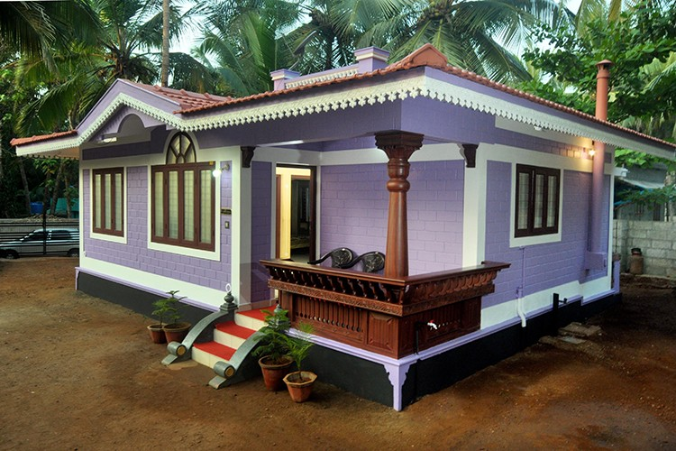 655 Square Feet 2 Bedroom Beautiful Low Budget Home Design