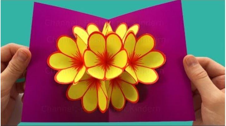 Pop-Up Card Flower