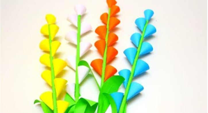Photo of How to Make Beautiful Paper Flowers Stick