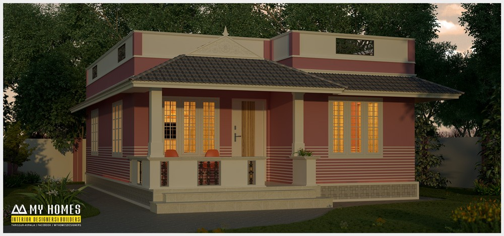 1150 Square Feet 2 Bedroom Low Budget Modern Home Design Home