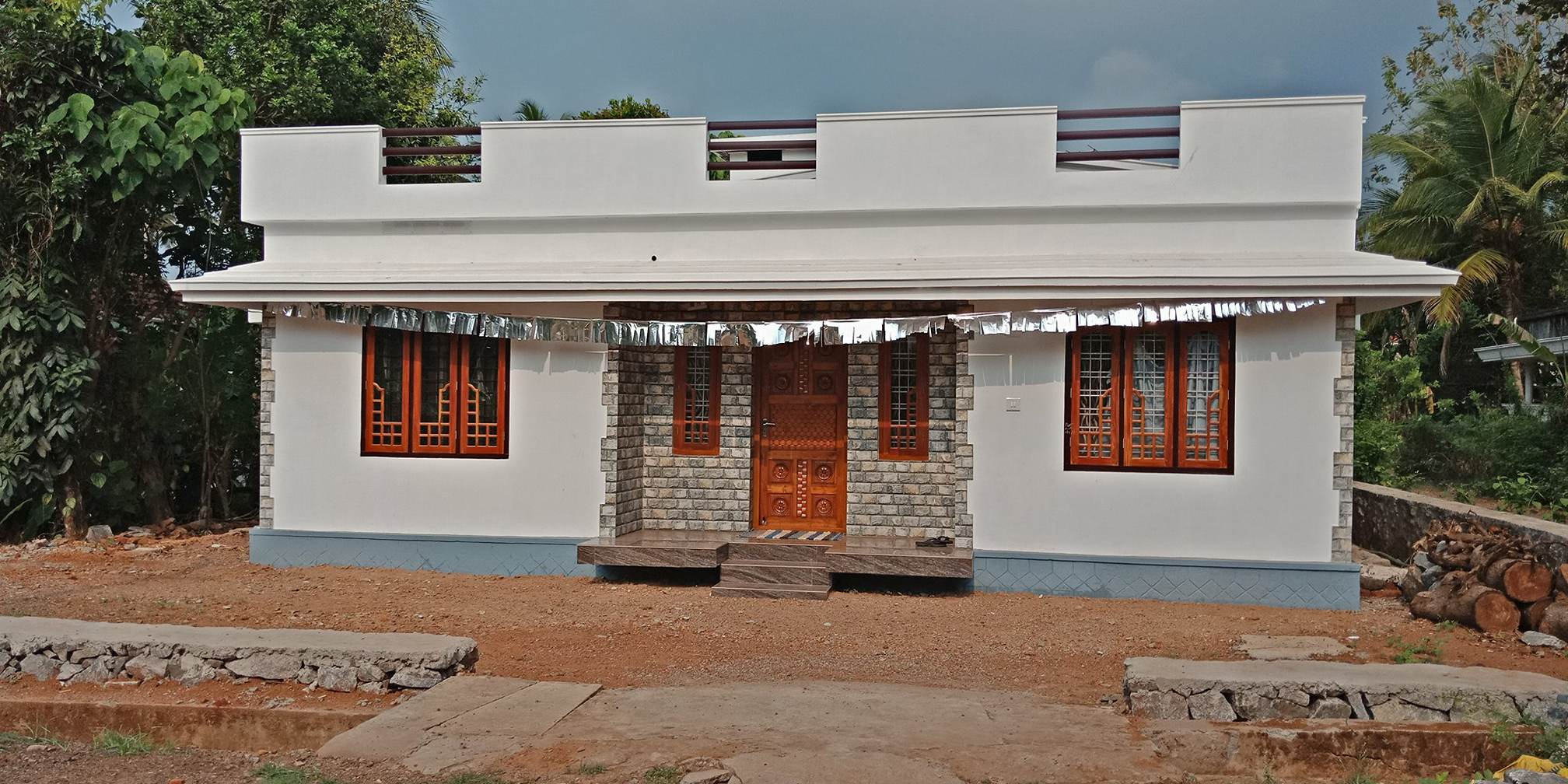 Low Cost 3 Bedroom Single Floor At: 960 Square Feet 3 Bedroom Single Floor Low Budget Home