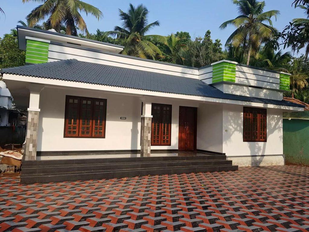 1150 Square Feet 3 Bedroom Single Floor Modern Home Design