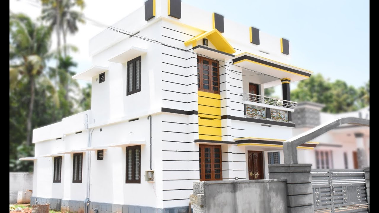 1600 Square Feet 4BHK Double Floor Home and 5.2 Cent Plot For Sale at Chalakudy