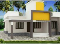 1027 Square Feet 3 Bedroom Single Floor Home Design and Plan
