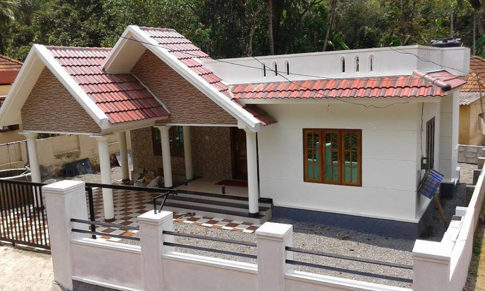 1029 Square Feet 3 Bedroom Single Floor Low Budget House Design and Plan
