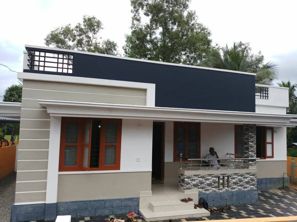 1151 Square Feet 3 Bedroom Low Budget Beautiful Home Design and Plan