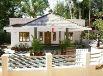1155 Square Feet 3 Bedroom Traditional Style Kerala Home Design and Plan