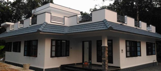 1358 Square Feet 4 Bedroom Single Floor Beautiful Home Design and Plan