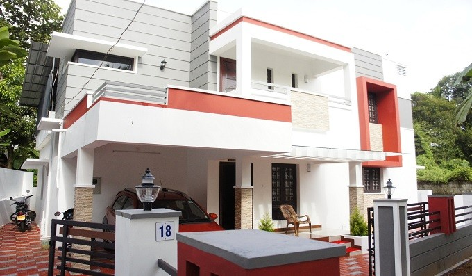 1700 Square Feet 3 Bedroom Contemporary Modern Style Home Design and Plan
