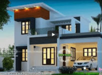 Beautiful Kerala Home Double Floor Designs 2018