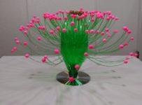 Plastic Bottle Vase